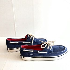 Keds Navy Boat Shoes